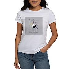 Best Day Yin Yang Rainbow Sun T-Shirt