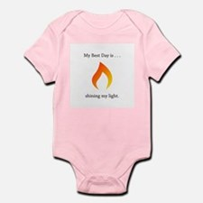 Best Day Shining Light Flame Body Suit