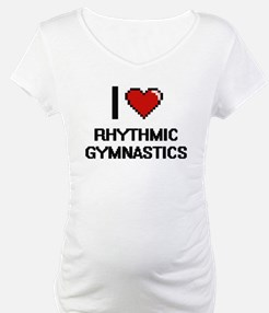 I Love Rhythmic Gymnastics Digit Shirt