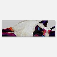 Galactic cat Bumper Bumper Sticker