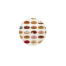 Donut Lot Mini Button