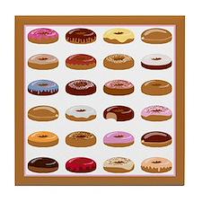 Donut Lot Tile Coaster