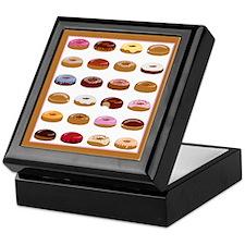 Donut Lot Keepsake Box