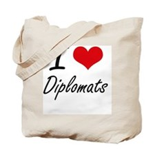 I love Diplomats Tote Bag