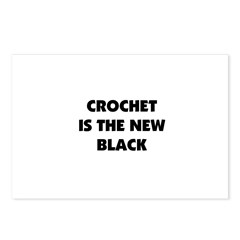 Crochet Is the New Black Postcards (Package of 8)