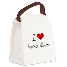I love District Nurses Canvas Lunch Bag