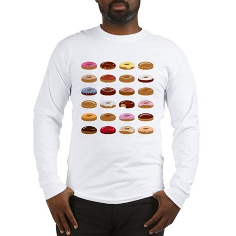 Donut Lot Long Sleeve T-Shirt