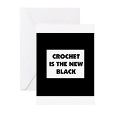 Crochet Is the New Black Greeting Cards (Pk of 10)
