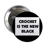 Crochet Is the New Black Button