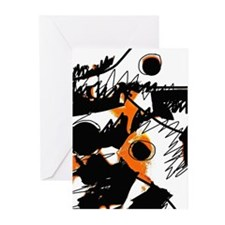 Organized Chaos Greeting Cards