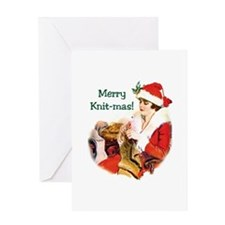 Merry Knit-mas Greeting Card
