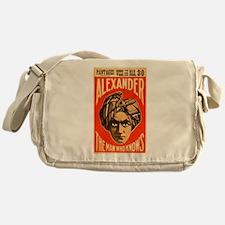Alexander - The Man Who Knows Messenger Bag