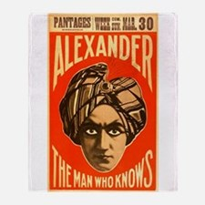 Alexander - The Man Who Knows Throw Blanket