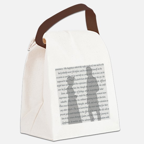 Pride and Prejudice Canvas Lunch Bag