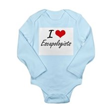 I love Escapologists Body Suit