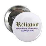 Religion - Been there, done that Button