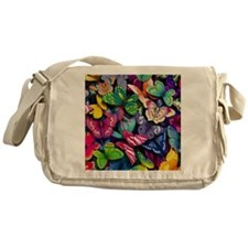 Field of Butterflies Messenger Bag