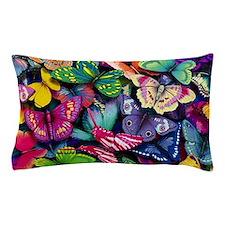 Field of Butterflies Pillow Case