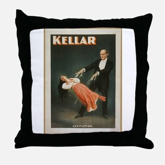 Kellar - Levitation 1 Throw Pillow