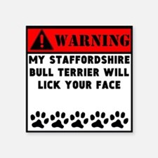 Staffordshire Bull Terrier Will Lick Your Face Sti
