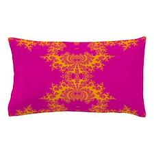 PurplePink Fractals Pillow Case