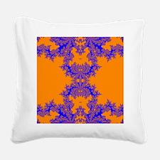 Sahara Fractals Square Canvas Pillow