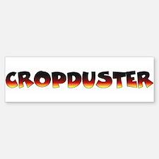 Cropduster - fart joke Bumper Bumper Bumper Sticker