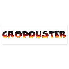 Cropduster - fart joke Bumper Bumper Sticker