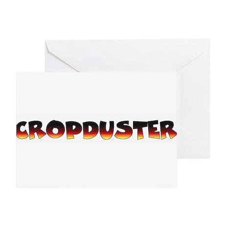 Cropduster - fart joke Greeting Card