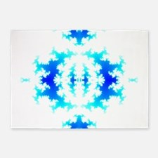 Blue Reflection 5'x7'Area Rug