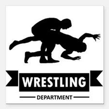 Wrestling Silhouette Car Magnets Personalized Wrestling - Custom wrestling car magnets