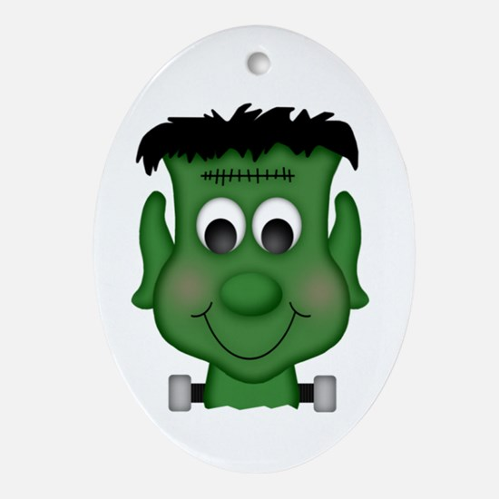 Ghoul Cool Oval Ornament