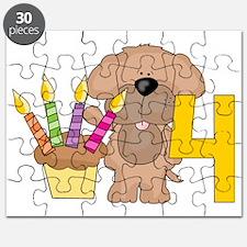 Happy 4th Birthday Puzzle