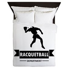 Racquetball Department Queen Duvet