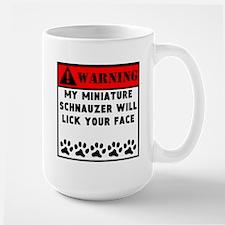 Miniature Schnauzer Will Lick Your Face Mugs
