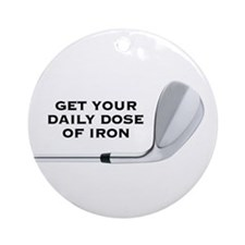 DAILY DOSE Ornament (Round)