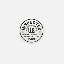 USDA Seal Mini Button