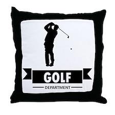 Golf Department Throw Pillow