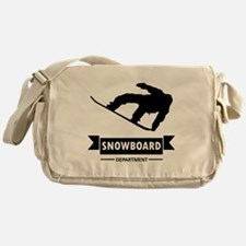 Snowboard Department Messenger Bag