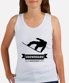 Snowboard Department Tank Top