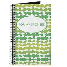 Sponsee (vine Graphic) Journal