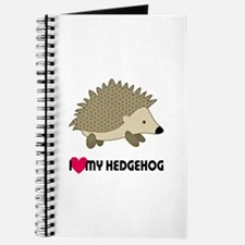 I Love My Hedgehog Journal