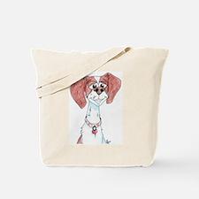 Trigger, Brittany Spaniel Tote Bag