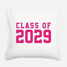 Class of 2029 Square Canvas Pillow