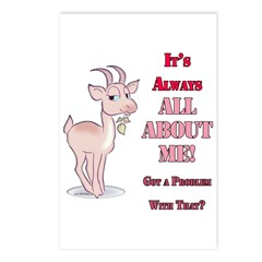 Goat- All About me Postcards (Package of 8)