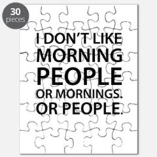 Morning People Puzzle