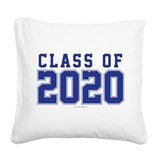 Class of 2020 Square Canvas Pillows