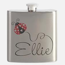 Ladybug Ellie Flask