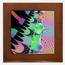 Cosmic Bubble Piano Framed Tile