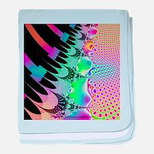 Cosmic Bubble Piano baby blanket